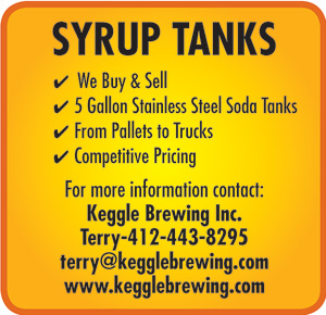 SYRUP TANKS