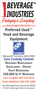 Preferred Used Food and Beverage Equipment