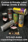 Custom & Private Label Energy Drinks & Shots