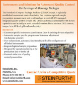 SOLUTIONS FOR BEVERAGES & PACKAGING QUALITY