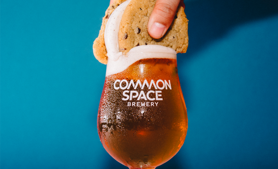 Coolhaus ice cream, Common Space Brewery pairing kit