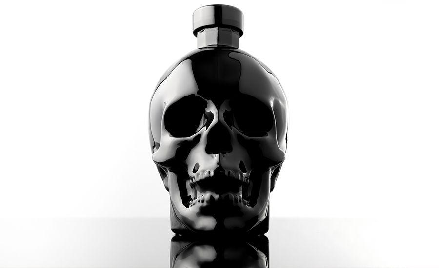Crystal Head Vodka - Onyx