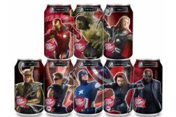 Dr Pepper Avenger cans
