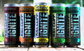 Kill Cliff Ignite energy drinks
