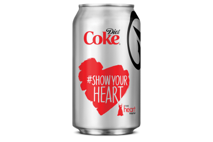 Diet Coke Show Your Heart