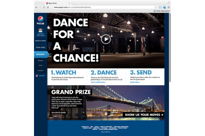 Pepsi Dance for a Chance
