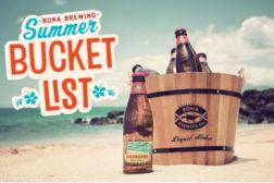 Kona Brewing Summer Bucket List sweepstakes