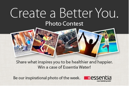 Essentia Create a Better You contest
