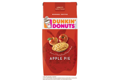 Dunkin Donuts Apple Pie seaonal ground coffee