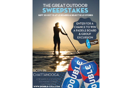 Double Cola's The Great Outdoors Sweepstakes