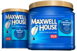 Maxwell House New Coffee Package