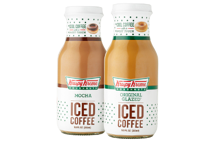 Krispy Kreme ready-to-drink iced coffees