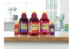 Mottâ??s Fruit Punch Rush, Wild Grape Surge and Strawberry Boom juice drinks