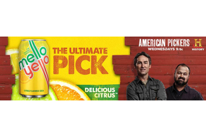 American Pickers Mello Yello Hand Picked and Refreshed sweepstakes