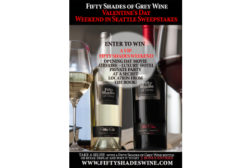Fifty Shades of Grey Wine contest image