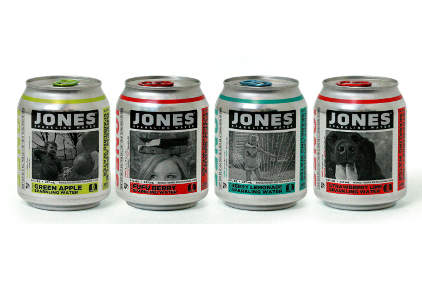 Jones Sparkling Waters