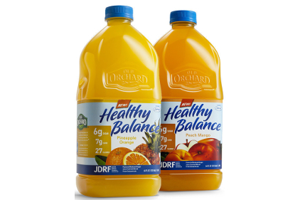 Old Orchard Brands' Healthy Balance juice drinks