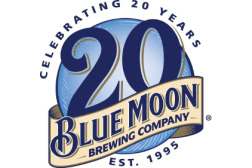 Blue Moon 20th anniversary logo