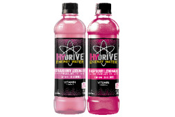 Hydrive Energy Water Strawberry Lemonade and Raspberry Lemonade