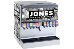 Jones Cane Sugar Fountain Soda program