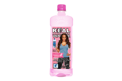 Real Water goes pink for Susan G. Komen