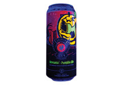 Griffin Claw Brewing Screamin Pumpkin Ale glow-in-the-dark can