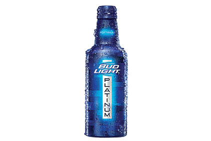 Bud Light Platinum reclosable bottle