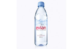 Evian 500ML bottle