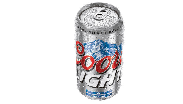 Coors Light Refreshing Can