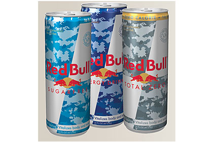 Red Bull Camo Cans