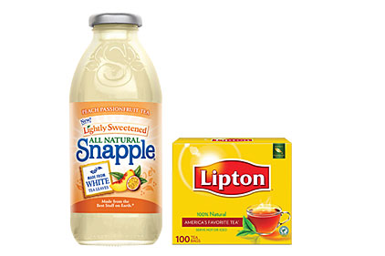 Snapple Lipton tea