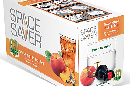 Space Saver Peach Tea