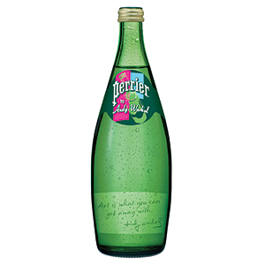Perrier Warhol art
