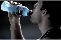 Sports and protein drinks