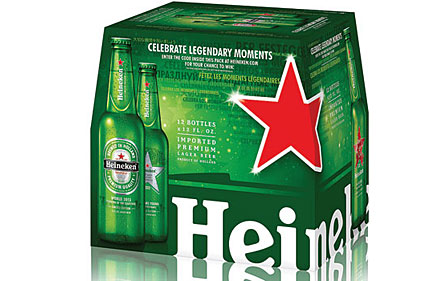 Heineken holiday pack feat