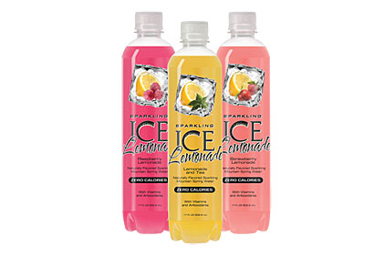 Sparkling ice beverage