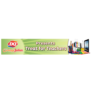 DQ Treats for Teachers