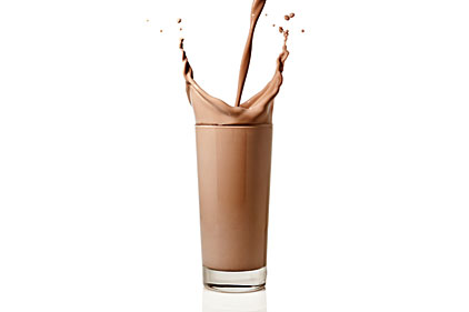 Chocolate sports milk