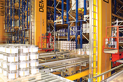 Warehouses turning to automation for storage needs | 2014-02