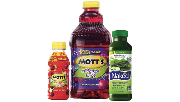 Motts juices and kale blazer