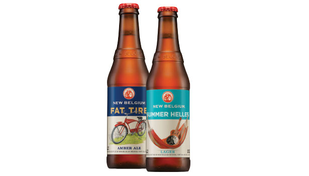 New Belgium Brewing new package
