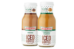 Krispy Kreme iced coffees
