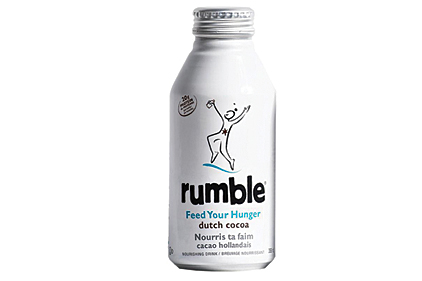 Rumble all-natural shakes