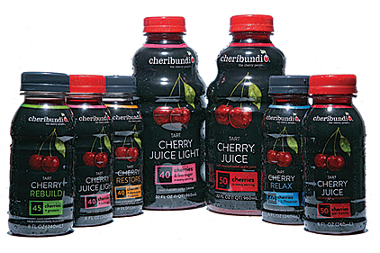 Cheribundi cherry drink, Functional Group