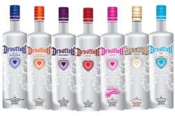 Devotion Vodka lineup