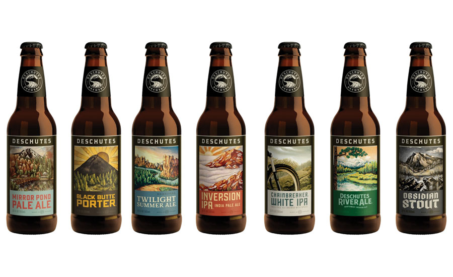 Deschutes Brewery Updates Carton And Tap Handle Designs