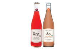 Sipp mojoberry and summer pear drinks
