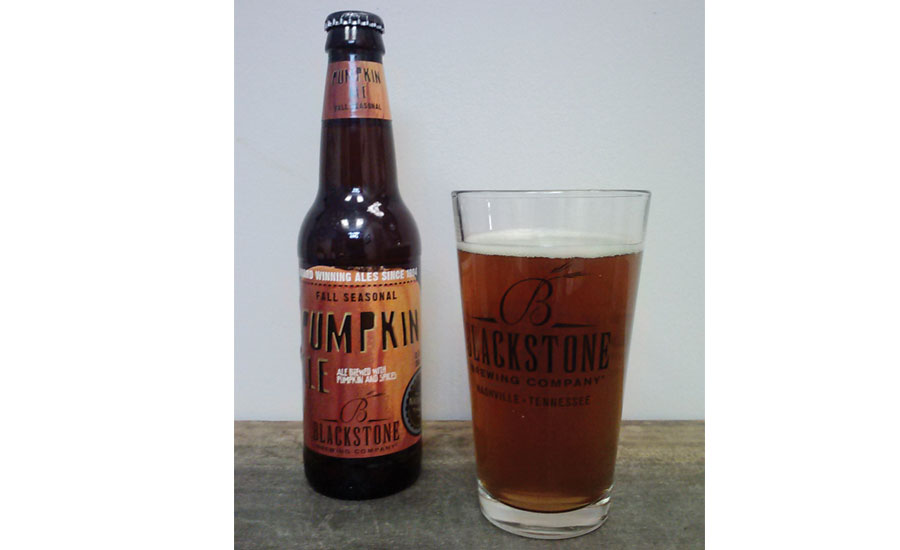 Blackstone Pumpkin Ale