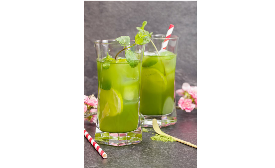 Matcha Green Tea lime can