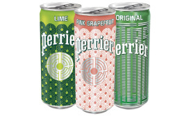 Perrier slim can